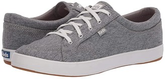Keds Center Jersey (Light Gray) Women's Lace up casual Shoes