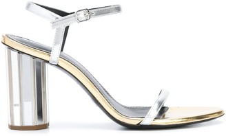 Proenza Schouler Facet Heel Strappy Sandals