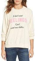 Wildfox Couture Women's New Clothes Sweatshirt