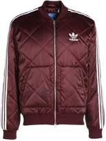 adidas Bomber Jacket maroon