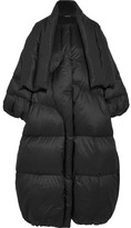 Maison Margiela Oversized Quilted Shell Down Coat - Black