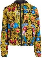 Versace Jungle Baroque Zip-Up Hoodie