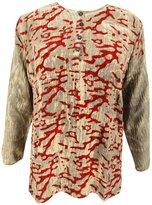 ibaexports Indian Viscose Top Button Down Blouse Women Kurta Long Sleeve Tunic