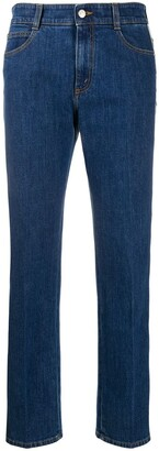 Stella McCartney Side Logo Stripe Jeans