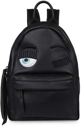 Chiara Ferragni Flirting Faux Leather Backpack
