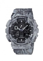 G-shock Ga100 Grey Marbled Resin Watch