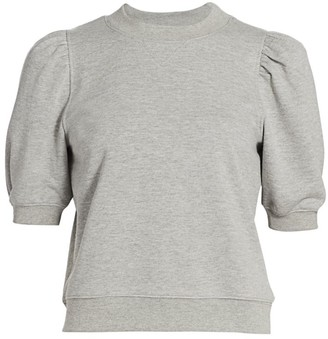 Design History Puff-Sleeve Sweatshirt