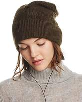 Rebecca Minkoff Beanie with Wired Headphones