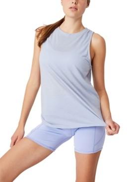 Cotton On Women's Active Curve Hem Tank
