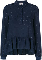 Twin-Set dots print shirt - women - Polyester/Spandex/Elastane - S