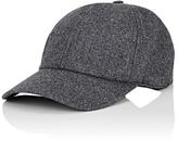 Officine Generale Virgin Wool Flannel Baseball Cap