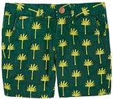 Scotch Shrunk PALM-TREE-PRINT JEAN SHORTS