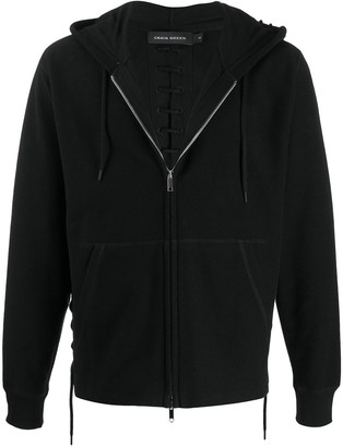 Craig Green Front Zipped Hoodie