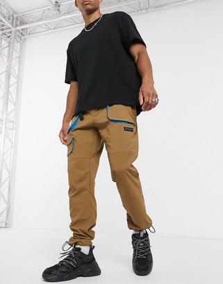 Columbia Powder Keg cargo pant in brown