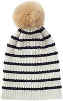 Jigsaw Islay Wool Breton Striped Pom Hat