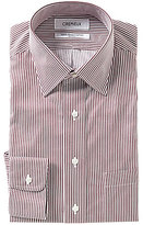 Daniel Cremieux Non-Iron Fitted Spread-Collar Striped Dress Shirt