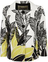 Herno Printed Leaves Blazer