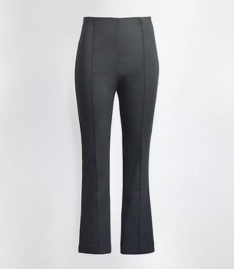 LOFT The Plus High Waist Side Zip Kick Crop Pant