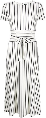 Polo Ralph Lauren Striped Tie-Waist Dress