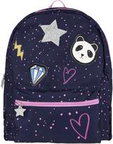 Accessorize Applique Panda Badge Backpack