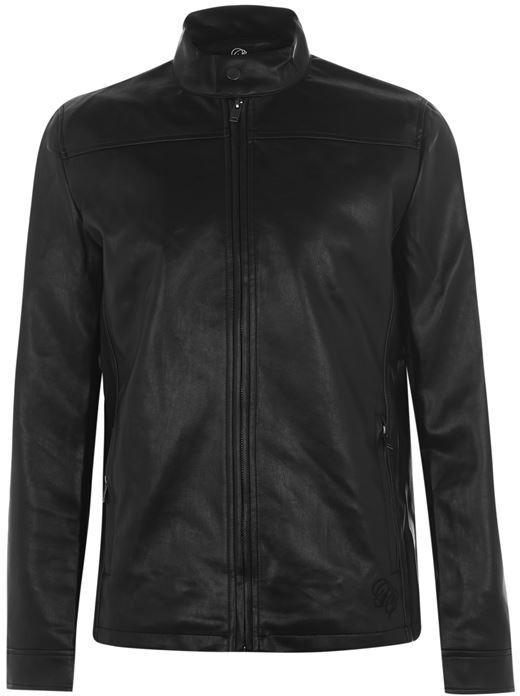 Fabric PU Jacket Mens