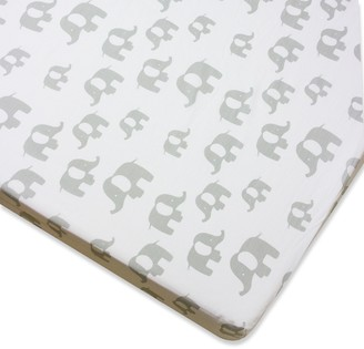 Wendy Bellissimo Elephant Fitted Crib Sheet