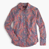 J.Crew Club collar perfect shirt in Liberty Art Fabrics Felix & Isabella print