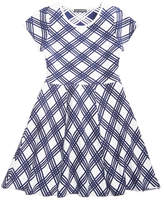 My Michelle Lattice Sweater Dress, Big Girls