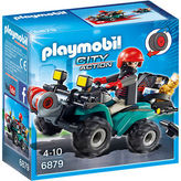 Playmobil NEW Robbers Quad With Loot
