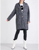 Etoile Isabel Marant Ladies Anthracite Im Woven Coat
