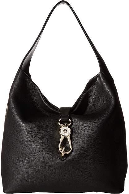 Dooney & Bourke Belvedere Logo Lock Shoulder Bag Shoulder Handbags