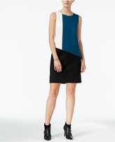 Bar III Colorblocked Ponte Dress, Only at Macy's