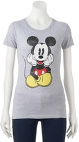 Disney Disney's Mickey Mouse Juniors' Sitting Graphic Tee