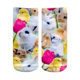 LIVING ROYAL - Easter Bunnies Ankle Socks