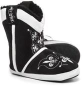 Blazin Roxx Fleur Crystal Bootie Slippers (For Women)