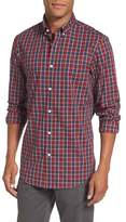 Nordstrom Men's Regular Fit Non-Iron Check Sport Shirt