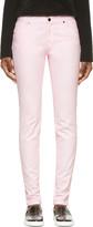 Christopher Kane Pink Skinny Jeans