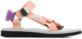 Suicoke Logo Open-Toe Sandals