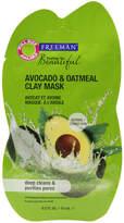 Freeman Feeling Beautiful Facial Clay Mask Avocado & Oatmeal