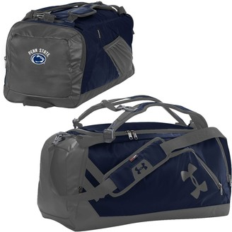 Under Armour Navy/Graphite Penn State Nittany Lions Good Performance Backpack Duffel Bag