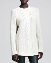 The Row Chunky Wool-Cashmere Sweater