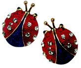 Stars & Stripes Products Patriotic Ladybug Earrings