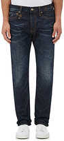 R 13 Men's Low Straight-Leg Jeans-Navy Size 28