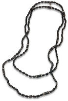 Carolee Gotham Hematite-Tone Rope Necklace