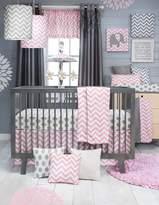 Glenna Jean 3Pc Set (Includes quilt, grey dot sheet, crib skirt)