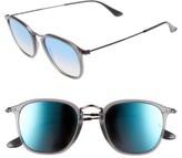 Ray-Ban Men's 51Mm Retro Sunglasses - Grey/blue Flash Gradient