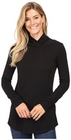 Mod-o-doc Supreme Jersey Slouchy Crossover Funnel Tunic