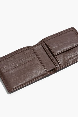 Country Road Leather Billfold Coin Wallet