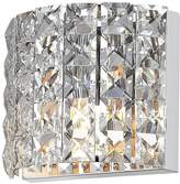 Marquis by Waterford Moy Chrome And Glass Wall Light Fitting