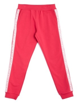 GUESS Big Girls Glitter Logo French Terry Joggers